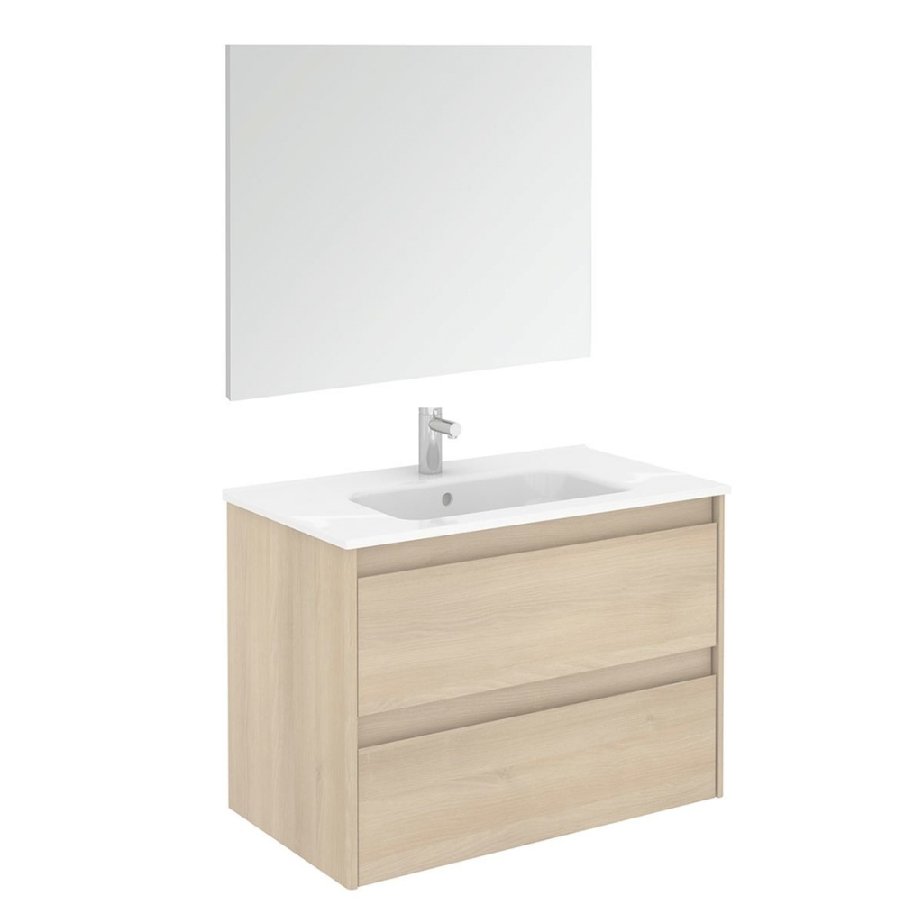 Modern Ws Bath Collections Ambra 80 Pack 1 Wall Mounted Bathroom Vanity inside Wall Mount Bathroom Vanity