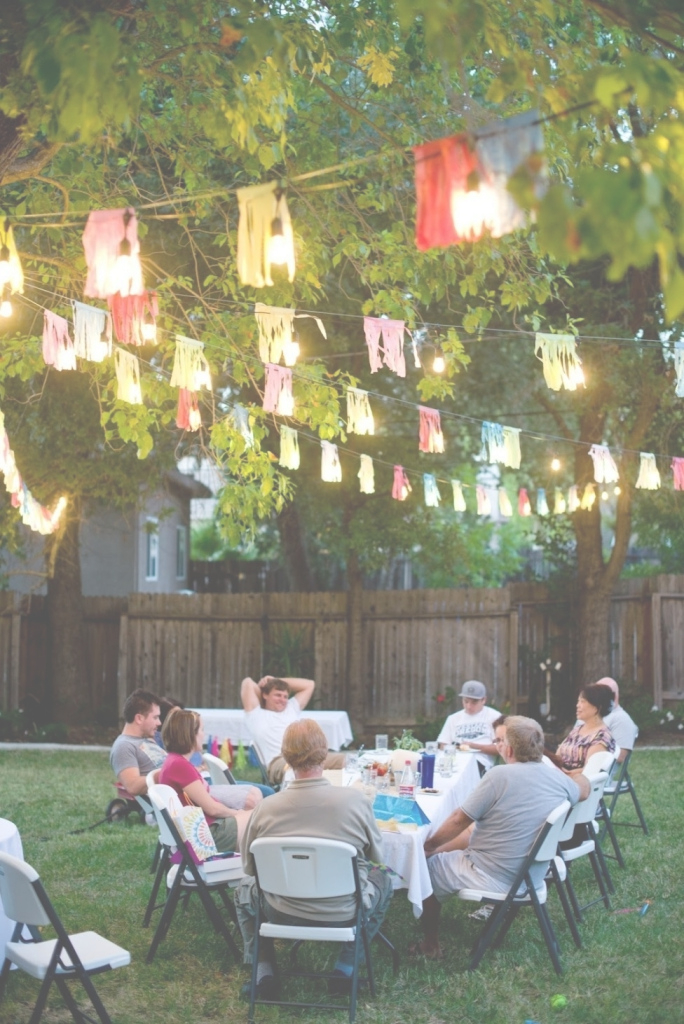 Modular 10 Lovely Backyard Party Ideas For Adults intended for Review Backyard Party