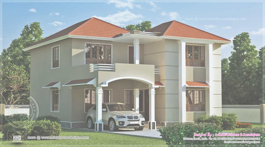 Modular 100+ Home Exterior Design Photos India - Front Exterior Design Of pertaining to Indian Home Exterior Design Photos Middle Class