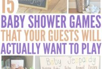 Modular 15 Hilariously Fun Baby Shower Games pertaining to Most Hilarious Baby Shower Games
