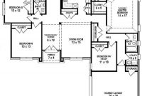 Modular 4 Bedroom 3 Bath Floor Plans (Photos And Video) | Wylielauderhouse intended for 3 4 Bathroom Floor Plans