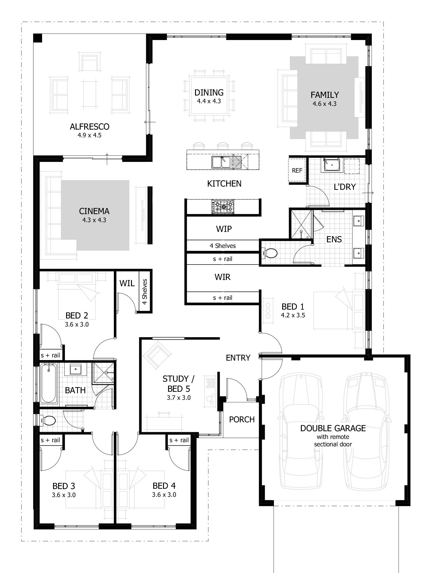 Modular 4 Bedroom House Plans & Home Designs | Celebration Homes intended for Home Design Plans With Photos
