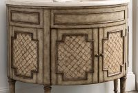 "Modular 44"" Patrician Capiz Shell Single Bath Vanity – Bathgems pertaining to 44 Bathroom Vanity"