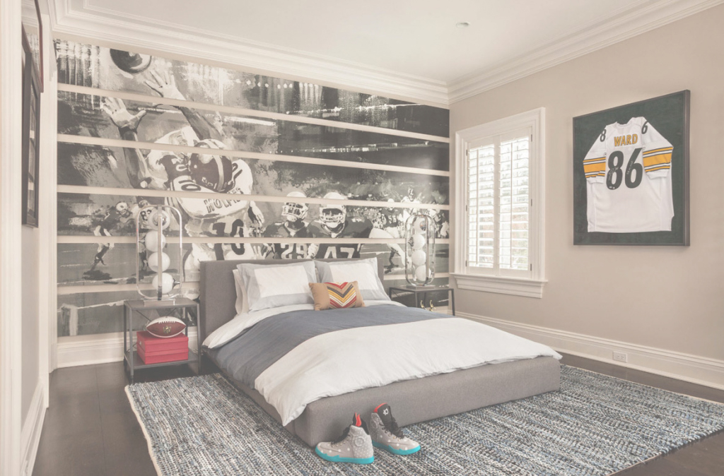 Modular 47 Really Fun Sports Themed Bedroom Ideas | Home Remodeling with regard to Awesome Sports Themed Bedroom Decor