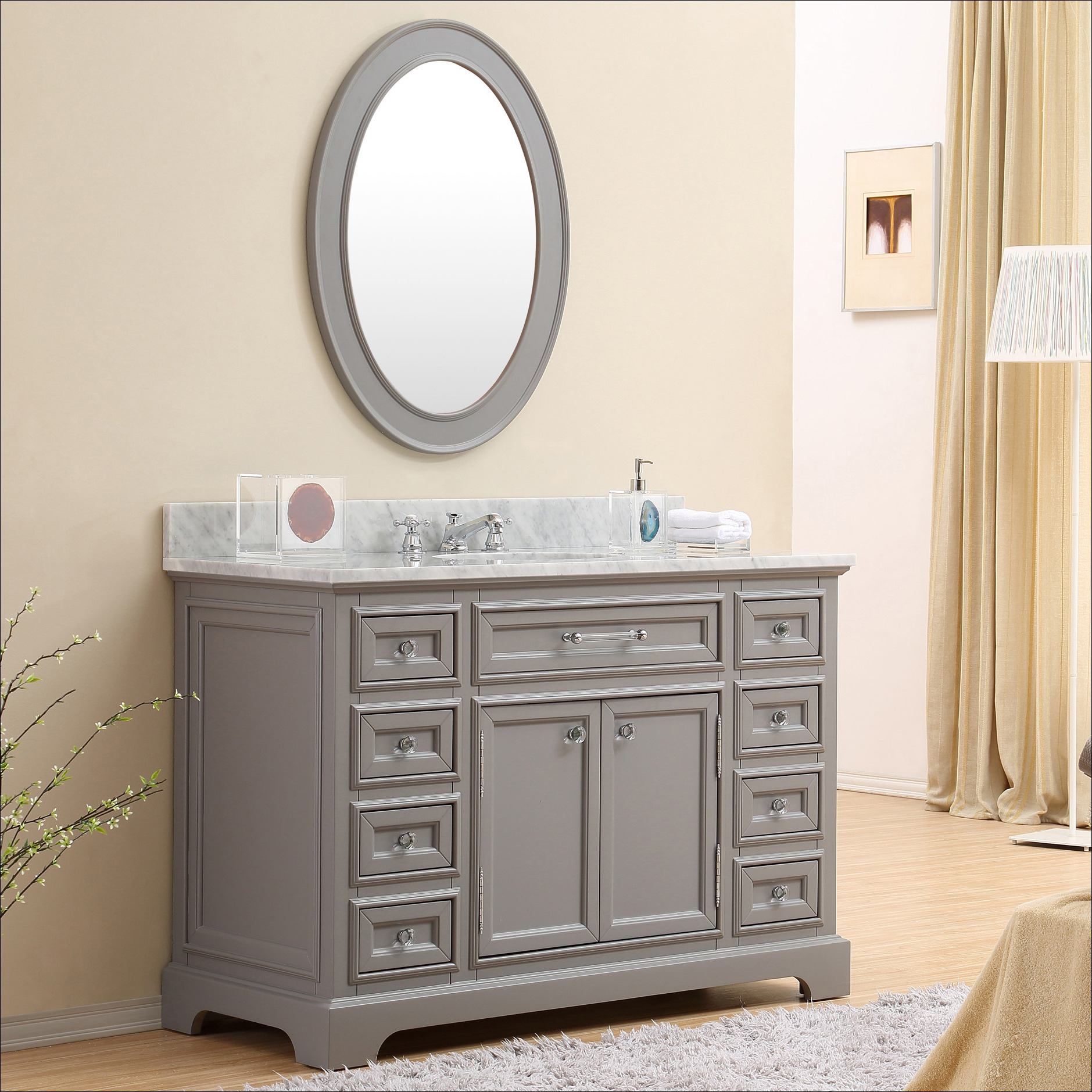 Modular 48 Inch Traditional Bathroom Vanities Cheap High End | The Largest throughout Traditional Bathroom Vanity