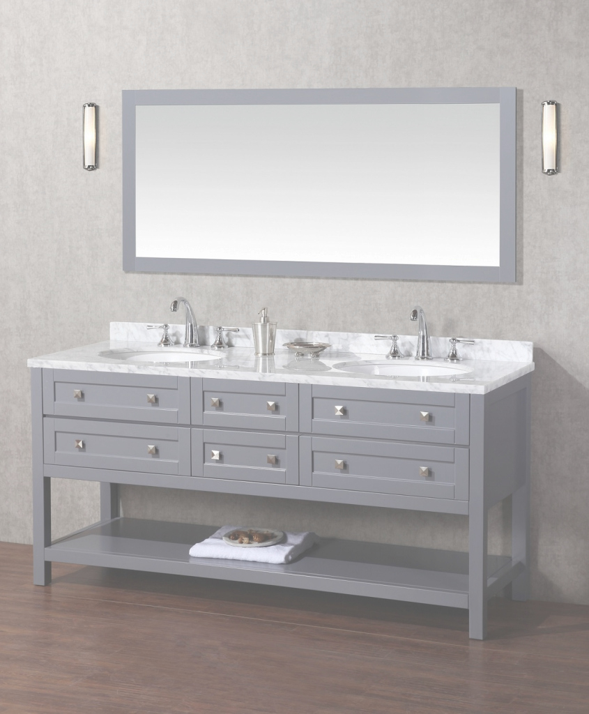 Modular 72 Double Sink Bathroom Vanity Bathroom | Cuboshost Latimer 72 regarding Bathroom Vanity 72 Double Sink