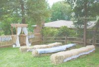Modular A Charming Backyard Country Wedding – Neverland Nook in Fresh Country Backyard