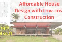 Modular Affordable House Design With Low Cost Construction – Youtube regarding Cheapest House Construction Method
