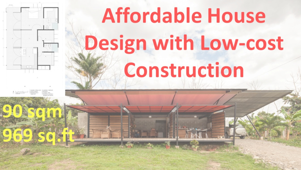 Modular Affordable House Design With Low Cost Construction - Youtube regarding Cheapest House Construction Method