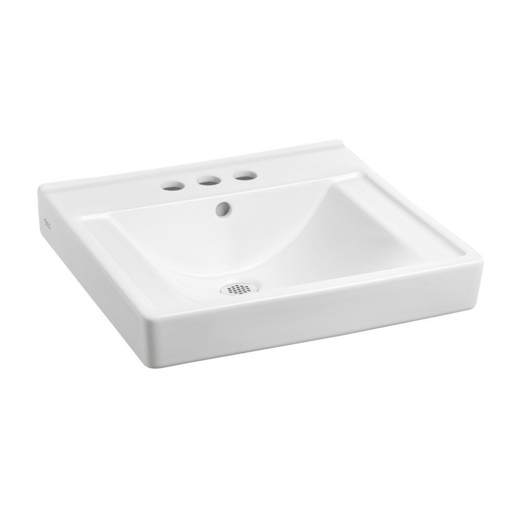 Modular American Standard Decorum With Everclean 18-1/4 In. Wall Hung regarding Unique Wall Mount Bathroom Sink
