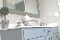 Modular Archive With Tag: Painted Bathroom Vanity Gray | Onsingularity for Painted Bathroom Vanity