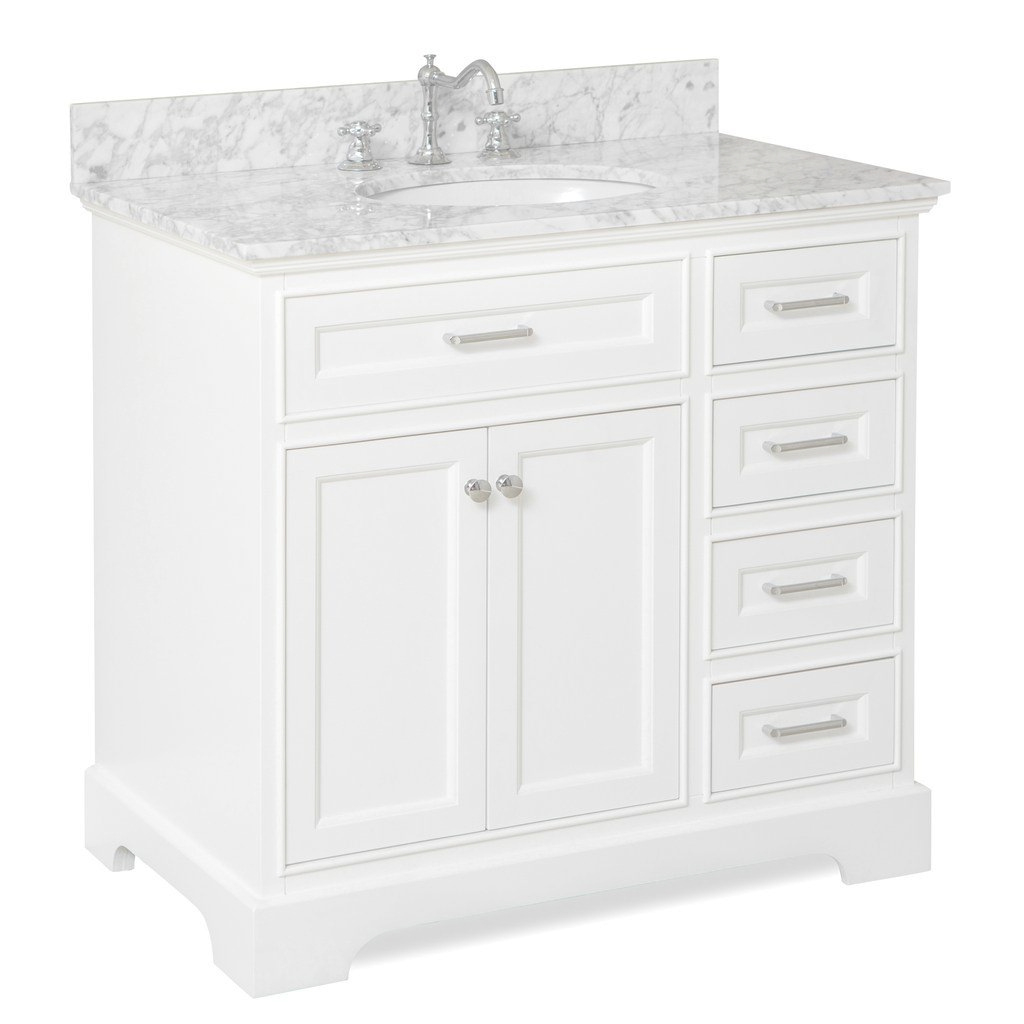 Modular Aria 36-Inch Vanity (Carrara/white) | Pinterest | Bathroom Vanities in Lovely 36 White Bathroom Vanity