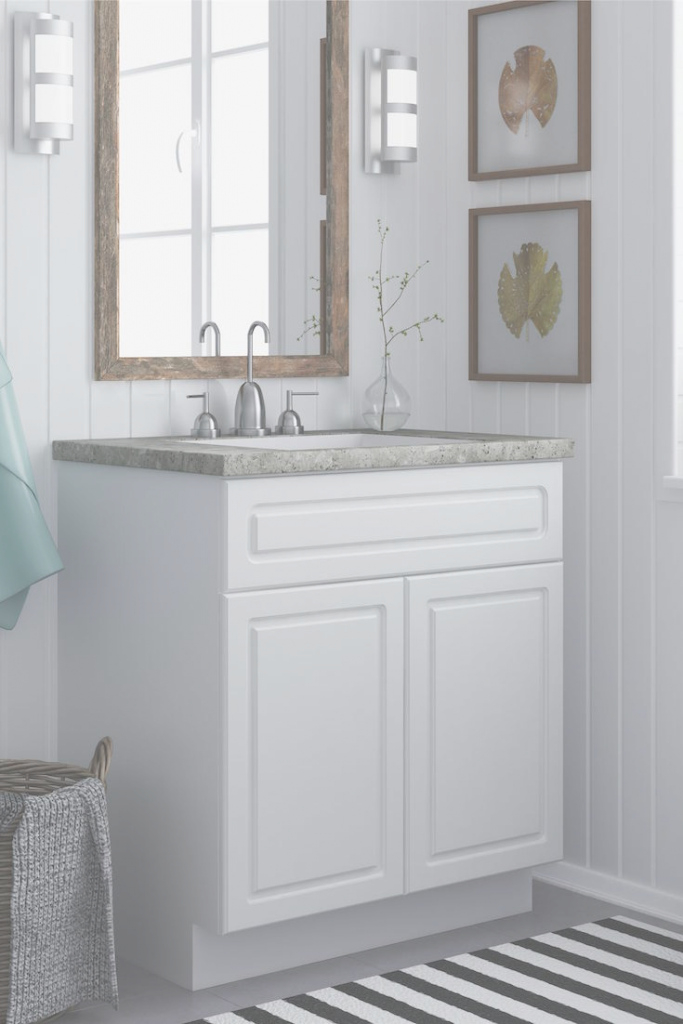 Modular Arranging A Small Bathroom Vanity - Tcg pertaining to Inspirational Bathroom Vanities Small