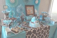 Modular Baby Boy Baby Shower Colors Lovely Safari Baby Shower Candy Table in Review Boy Baby Shower Colors