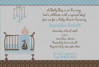 Modular Baby Boy Invitations Baby Shower – Baby Shower Gallery pertaining to Baby Boy Baby Shower Invitations