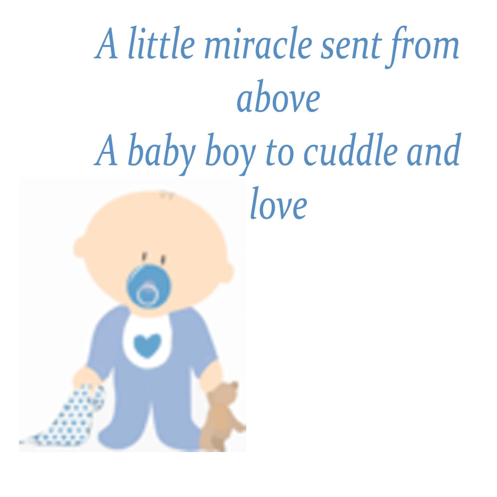 Modular Baby Boy Poems For Baby Shower with Baby Shower Rhymes