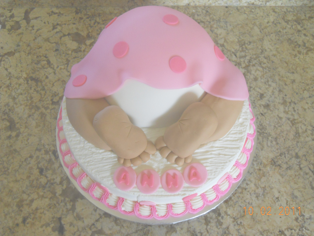 Modular Baby Shower Cake Ideas Girl | Omega-Center - Ideas For Baby within Baby Girl Shower Cake Ideas