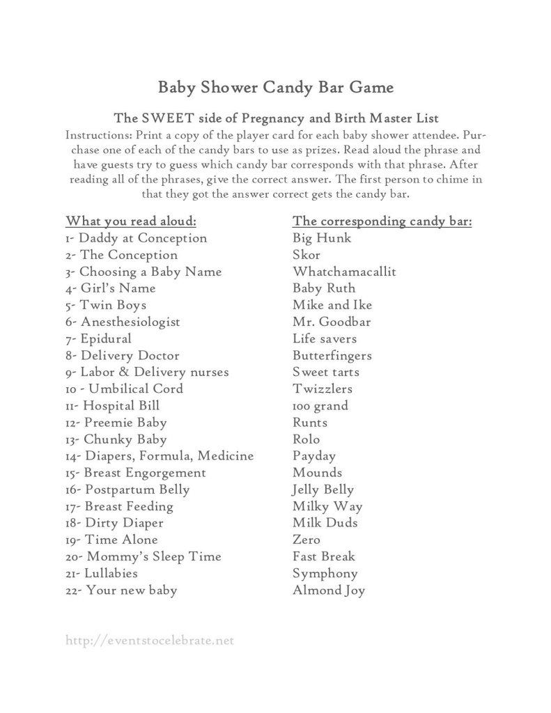 Modular Baby Shower Games | Pinterest | Baby Shower Candy, Babies And Bar in Baby Shower Candy Bar Game Answers