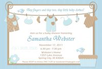 Modular Baby Shower Invitations Ideas For Boys | Omega-Center – Ideas throughout Baby Shower Invitations