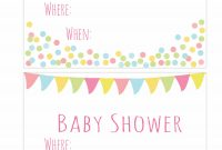 Modular Baby Shower Template Invites Awesome Text Invites Free Doritrcatodos regarding Free Places To Have A Baby Shower