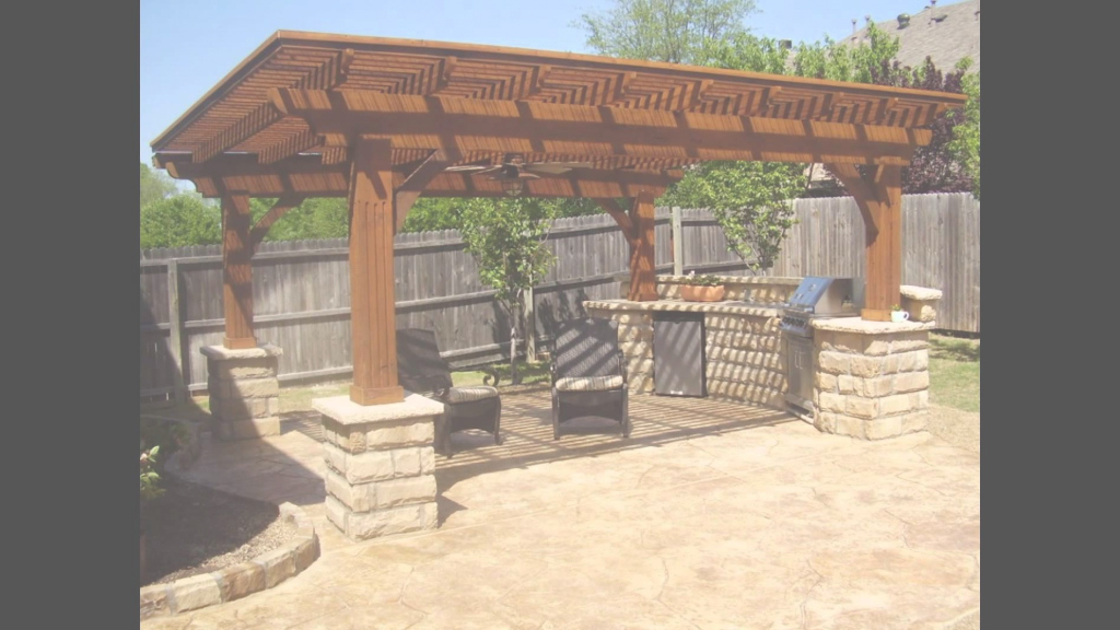 Modular Backyard Bar And Grill - Youtube inside Lovely Backyard Bar And Grill