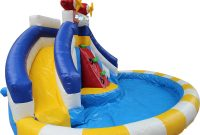 Modular Backyard Inflatable Water Slide Pool Inflatable Water Park With Air inside Lovely Backyard Inflatables