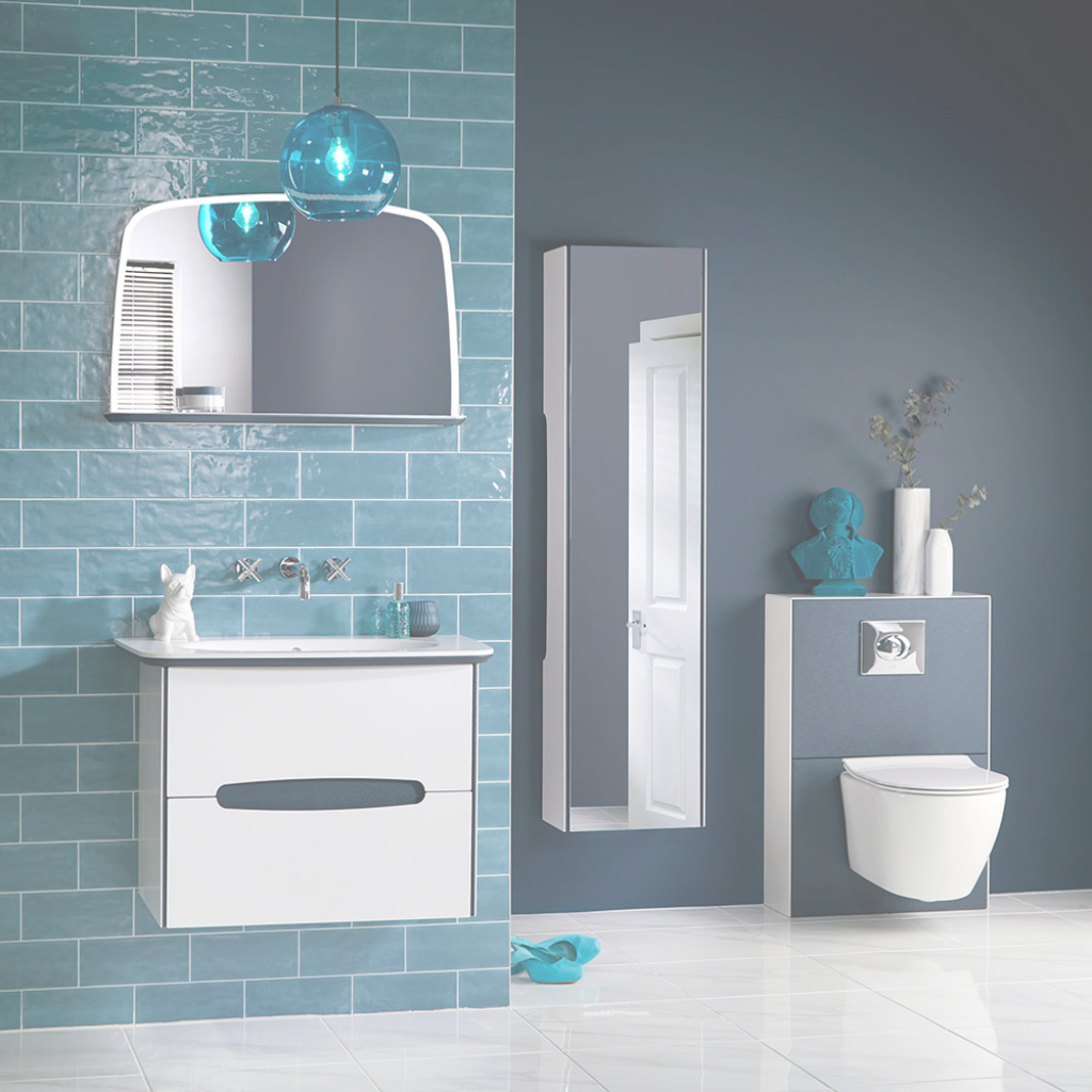 Modular Bathroom Trends 2018 – The Best New Looks For Your Space | Ideal Home for Luxury Blue Bathroom Interior Design