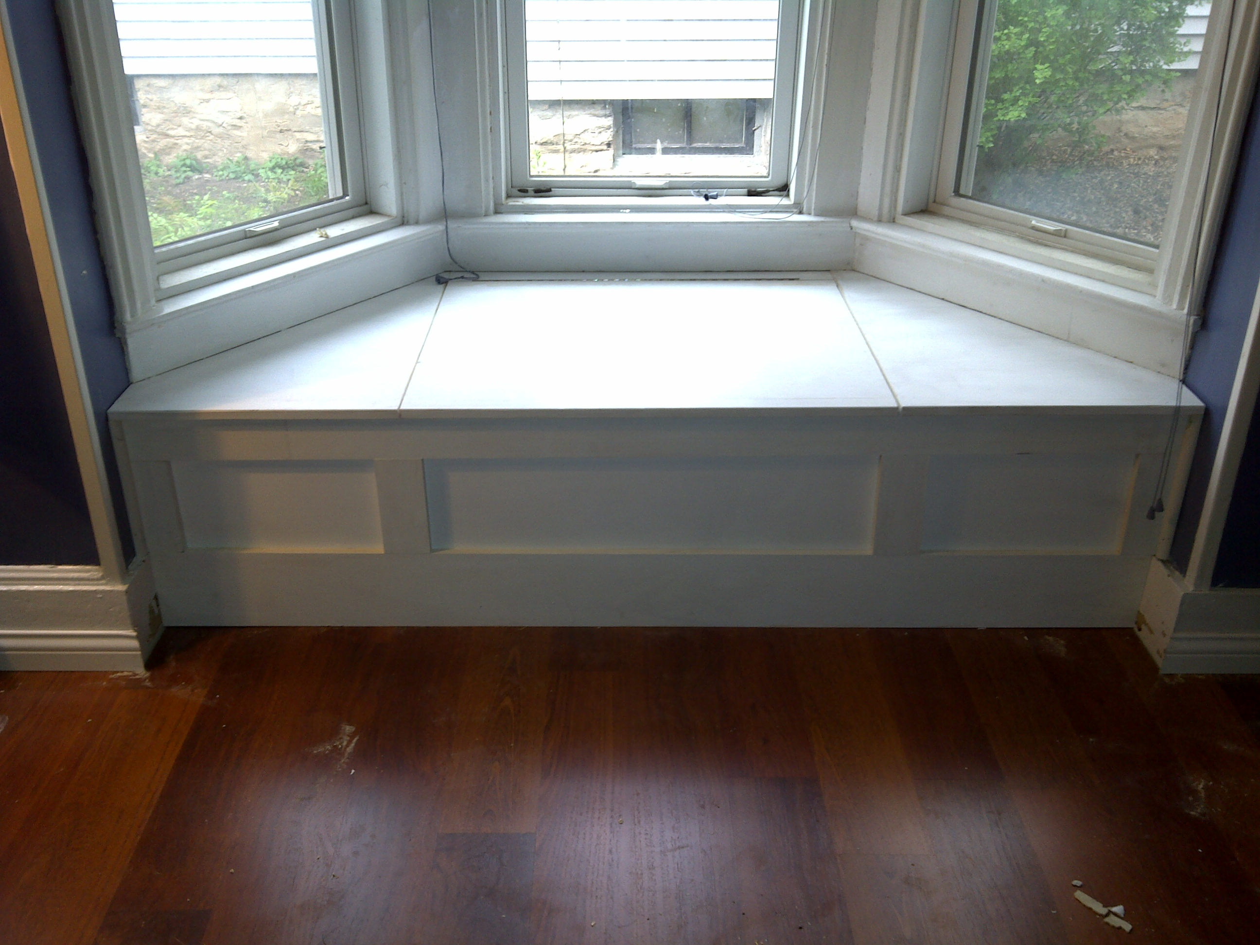 Bench Window Seat Custom Rooms Diy Bay