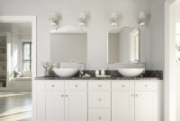 Modular Brilliant White Shaker – Ready To Assemble Bathroom Vanities within Shaker Bathroom Cabinets