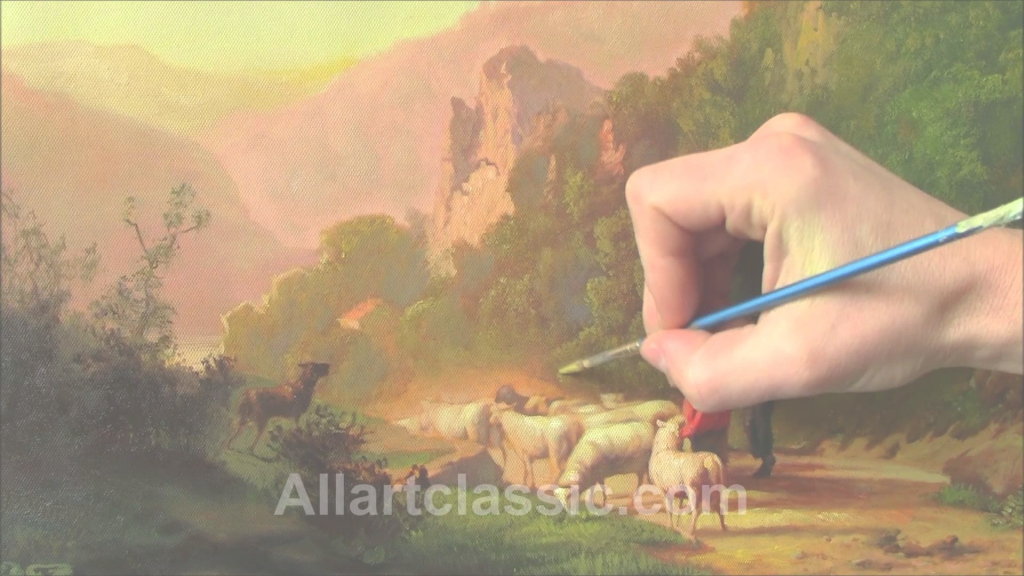 Modular Classical Landscape Painting - Youtube within Fresh Landscape Painting Techniques