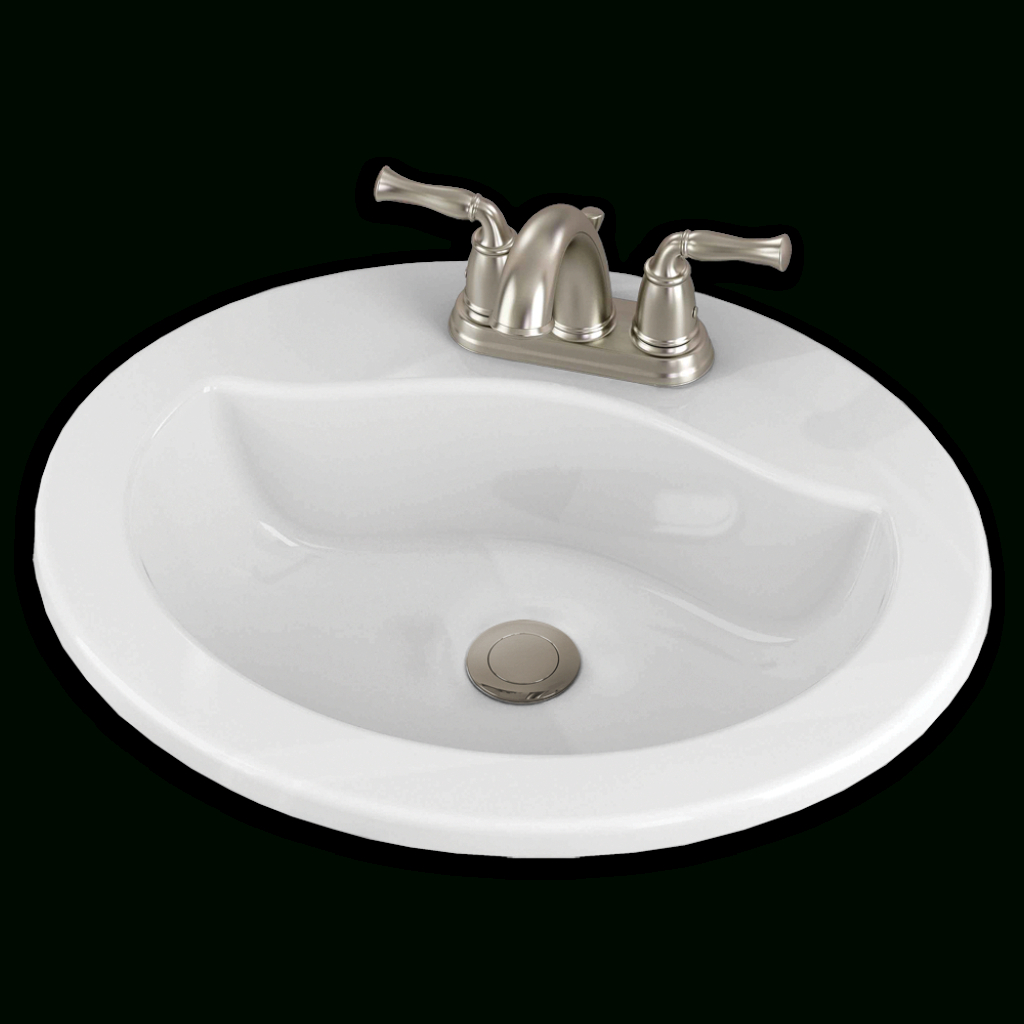 Modular Clean Oval Countertop Bathroom Sink - American Standard within Good quality Standard Bathroom Sink