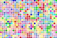 Modular Color Dot Pattern Icons Png – Free Png And Icons Downloads for Set Color Pattern Design
