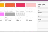 Modular Color Palette Block – Airtable – Support regarding Color Palette Names