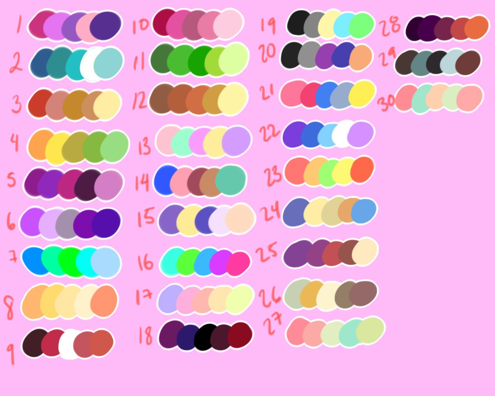 Modular Color Palette Memechibicmps On Deviantart regarding Awesome Color Palette Meme