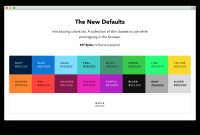 Modular Colors — Default Web Palette Replacement – Progville for Color Palette Names