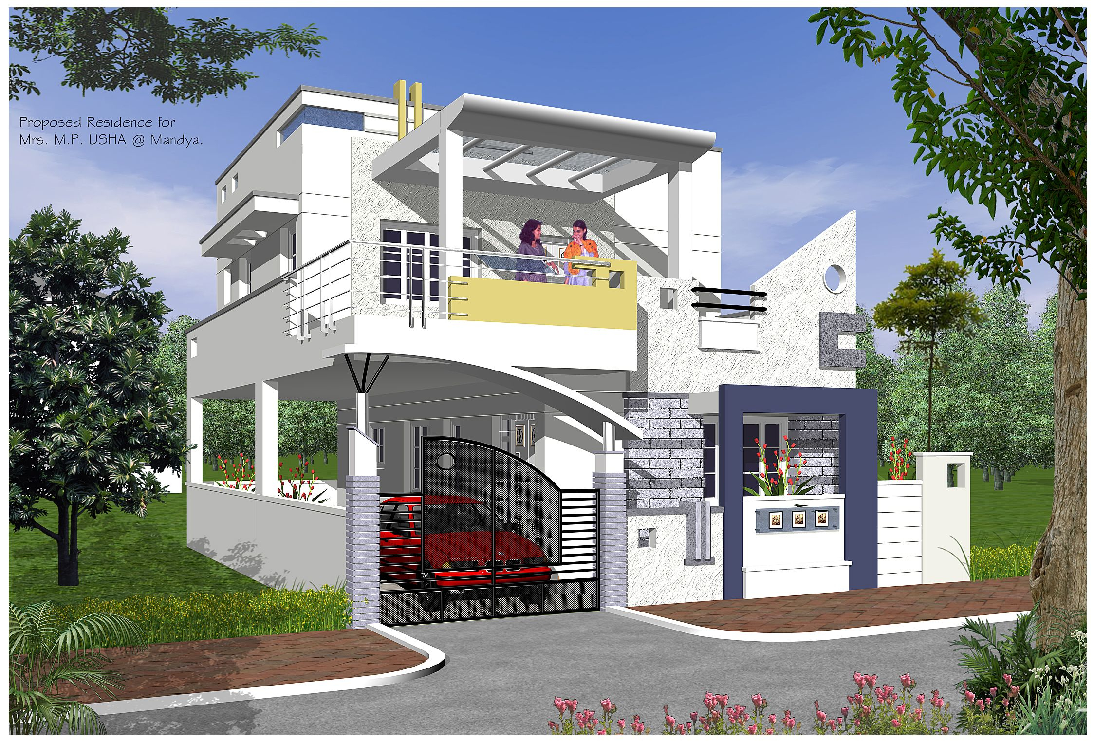 Modular Cool Contemporary Home Designs India - Stylendesigns! | Exterior pertaining to Awesome Indian Home Exterior Design
