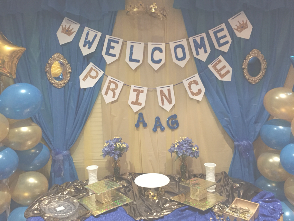 Modular Delightful Decoration Royal Blue And Gold Baby Shower Decorations inside Royal Blue And Gold Baby Shower Ideas