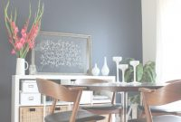 Modular Dining Room Makeover | Pinterest | Navy Accent Walls, Hale Navy And regarding Dining Room Ideas Pinterest