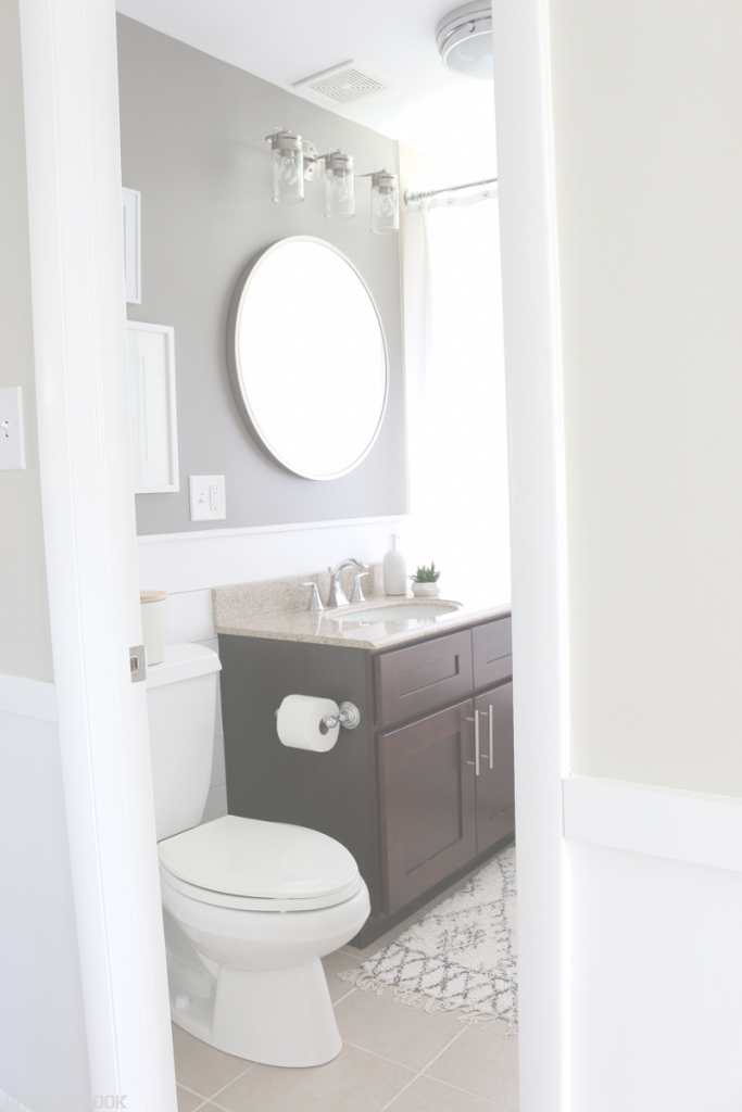 Modular Diy Shiplap Bathroom Reveal And Full Source List | Diy Playbook with regard to Unique Bathrooms With Shiplap