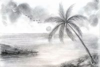 Modular Drawing Ideas Of Scenery Shaded Landscape Drawing Nature Scenery pertaining to High Quality Landscape Drawing Ideas