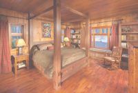 Modular Enchanting Log Cabin Interior Design Photos Images Ideas – Surripui inside Unique Cabin Bedroom