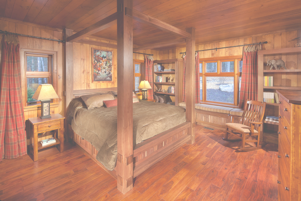 Modular Enchanting Log Cabin Interior Design Photos Images Ideas - Surripui inside Unique Cabin Bedroom