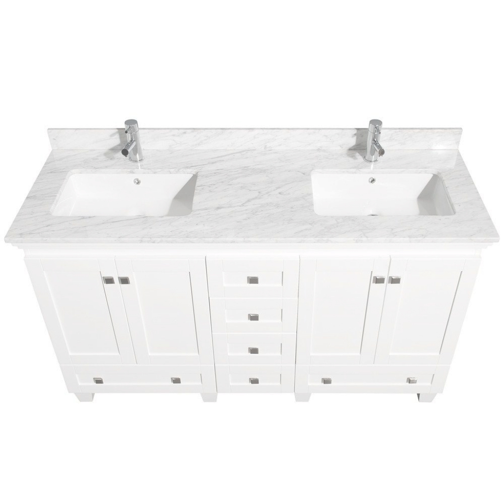 Modular Exclusive Idea 60 White Bathroom Vanity Home Design Ideas Unique within Lovely White Bathroom Vanity With Top