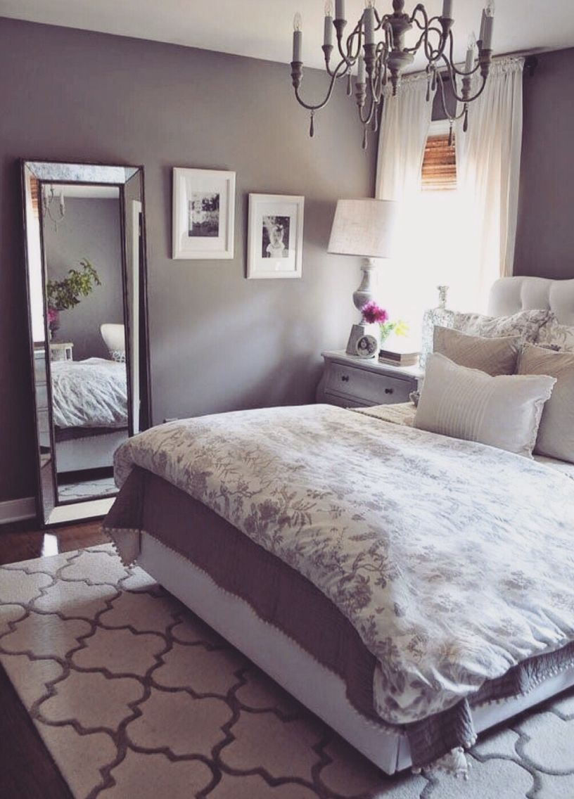 Modular Grey Bedroom - Soft Soothing Purple Tint | Home <3 | Pinterest in Inspirational Bedroom Gray