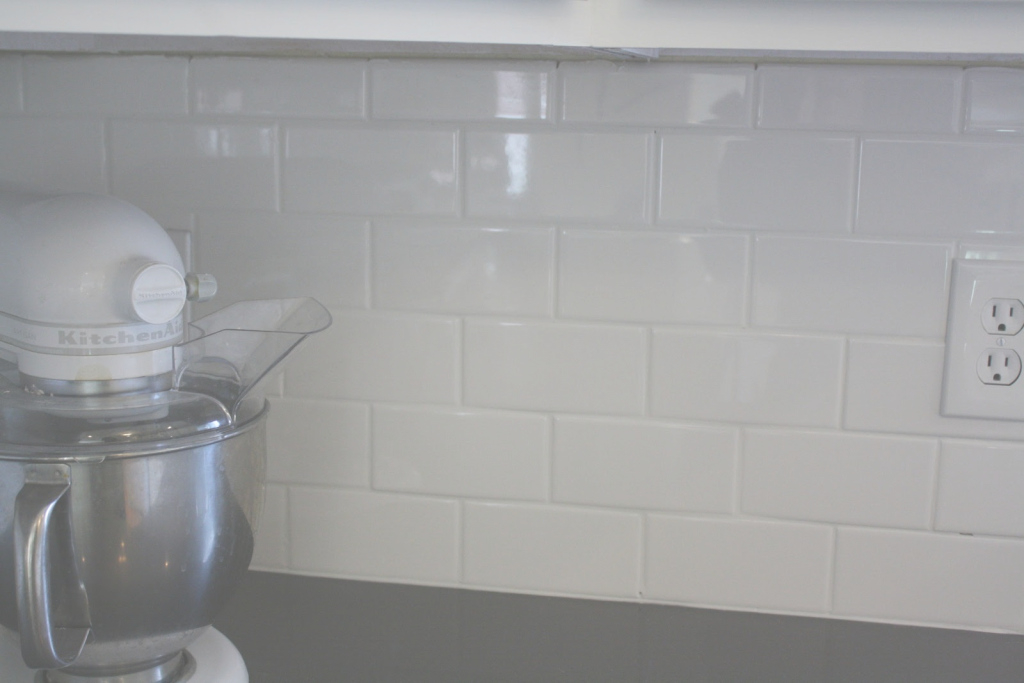 Modular Grouting Kitchen Backsplash Incredible White Grout In 28 intended for How To Grout Backsplash