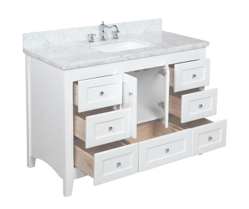 Modular Home Design : 48 Bathroom Vanity With Top Virtu Usa Vanities With within Review 48 Inch Bathroom Vanity With Top