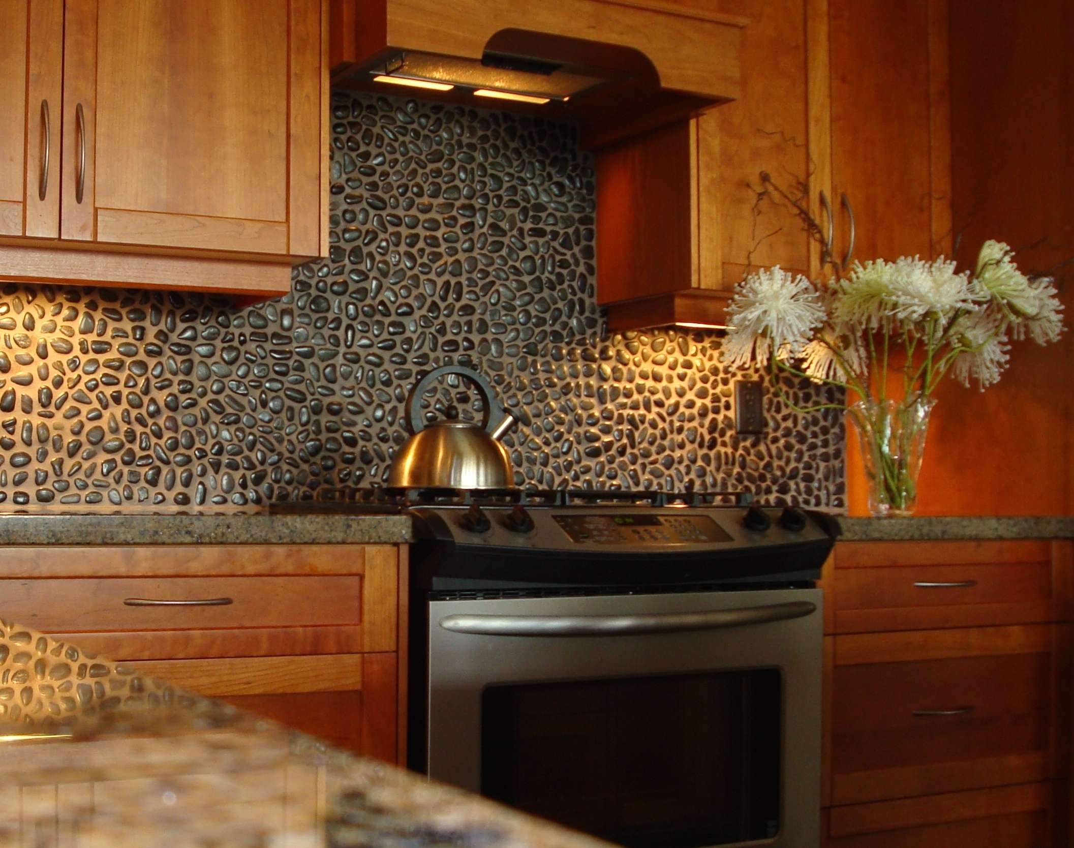 Modular How To Install Kitchen Backsplash On Drywall How To Install Stone regarding How To Install Stone Backsplash