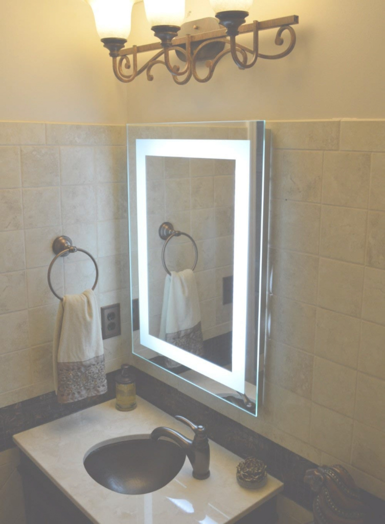 Modular How To Make Illuminated Mirror Illuminated Wall Mirrors For Bathroom with Best of Illuminated Wall Mirrors For Bathroom