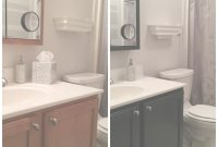 Modular How To Update The Color Of Your Bathroom Vanity Cabinet – Youtube in Painted Bathroom Vanity