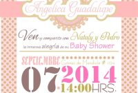 Modular Invitacion Baby Shower Niña. | Bby | Pinterest | Babies, Babyshower within Review Invitaciones Baby Shower